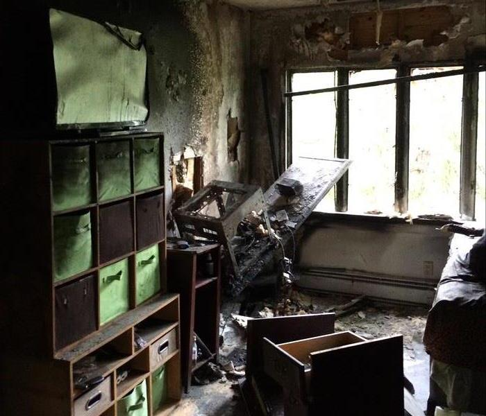 Fire Damage from a Property Management Company