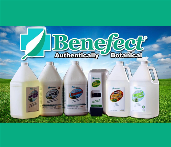 Cleaning Benefect Disinfectants and Cleaners - Used by SERVPRO in the Lehigh Valley